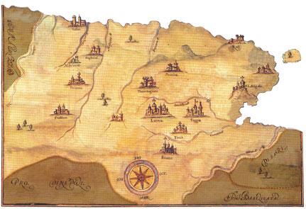 Mappa Conventi Soppressi